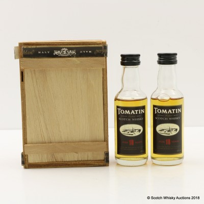 Tomatin 10 Year Old Minis 2 x 5cl