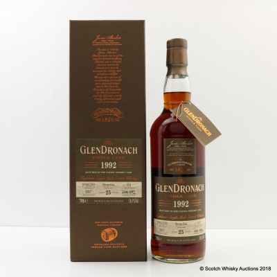 GlenDronach 1992 25 Year Old Single Cask #334