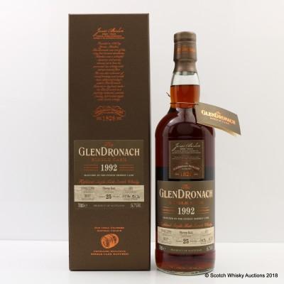 GlenDronach 1992 25 Year Old Single Cask #103