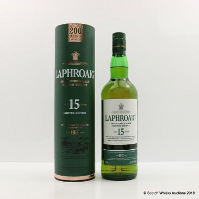 Laphroaig 15 Year Old 200th Anniversary