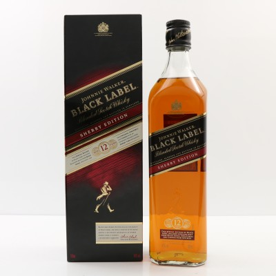 Johnnie Walker 12 Year Old Black Label Sherry Edition