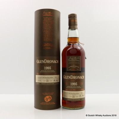 GlenDronach 1995 21 Year Old Single Cask #3310 Germany Exclusive