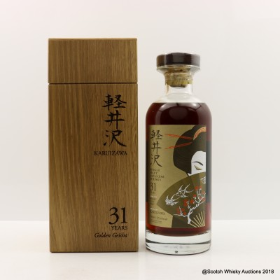 Karuizawa 31 Year Old Golden Geisha Cask #3667