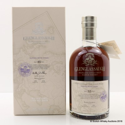 Glenglassaugh 1978 35 Year Old Madeira Wood Finish Massandra Connection