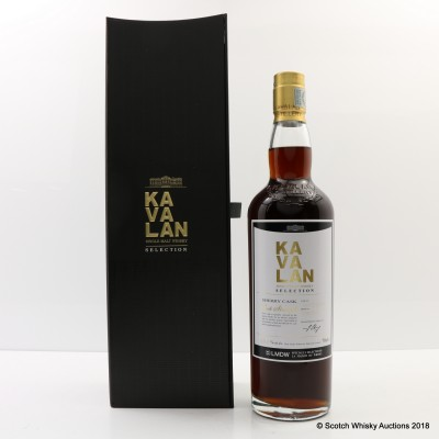 Kavalan Selection Sherry Cask For La Maison Du Whisky