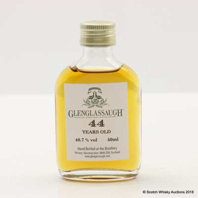 Glenglassaugh 44 Year Old Mini 5cl