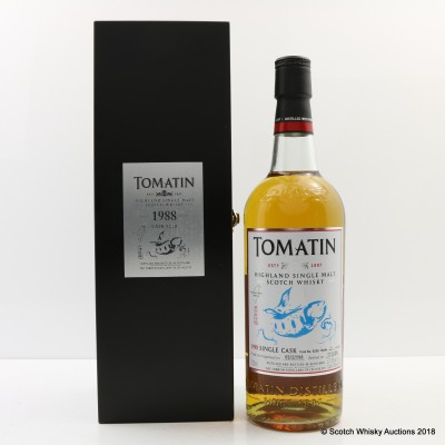 Tomatin 1988 25 Year Old Single Cask #5238 For Formosa Unique Wild Life