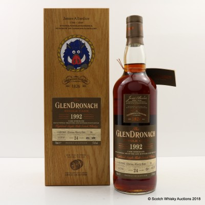 GlenDronach 1992 24 Year Old Single Cask #98 Taiwan Exclusive