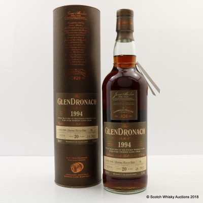 GlenDronach 1994 20 Year Old Single Cask #66