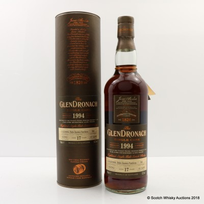GlenDronach 1994 17 Year Old Single Cask #340