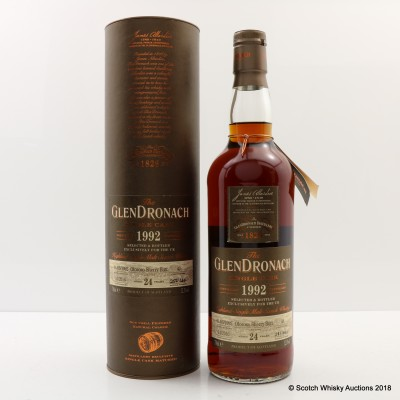 GlenDronach 1992 24 Year Old Single Cask #43 UK Exclusive