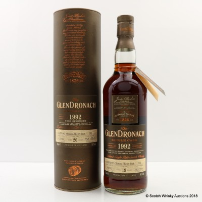 GlenDronach 1992 19 Year Old Single Cask #191