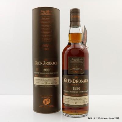 GlenDronach 1990 27 Year Old Single Cask #7898