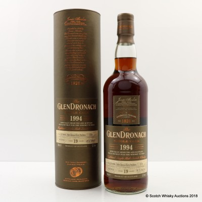 GlenDronach 1994 19 Year Old Single Cask #279 For Whisky World