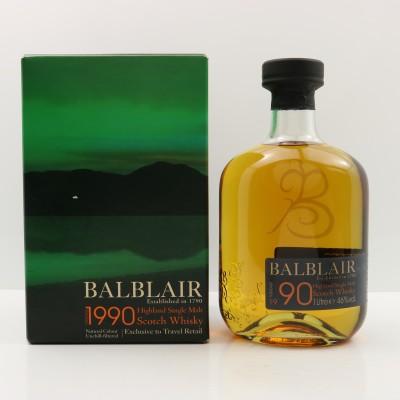 Balblair 1990 2009 Release 1L