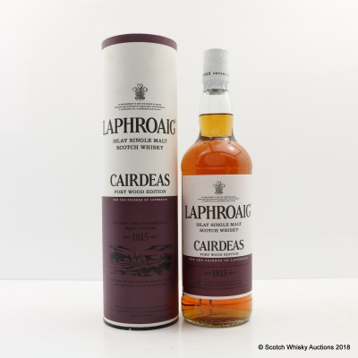 Laphroaig Feis Ile 2013 Cairdeas Port Wood 75cl