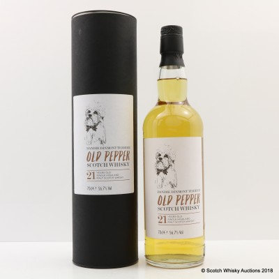 Tobermory 21 Year Old Dande Dinmont Old Pepper