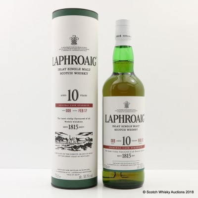 Laphroaig 10 Year Old Cask Strength Batch #9