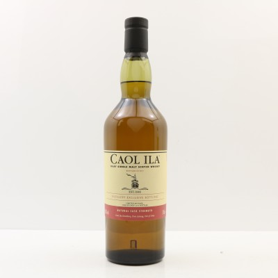 Caol Ila Distillery Only Cask Strength 2017 Release