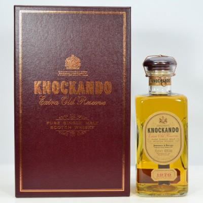 Knockando Extra Old Reserve 1970