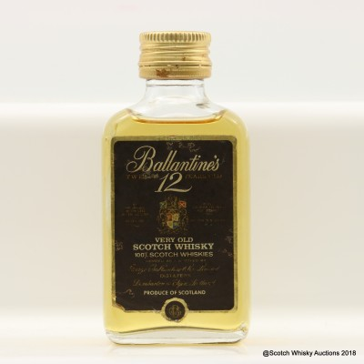 Ballantine's 12 Year Old Mini