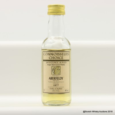 Aberfeldy 1977 Connoisseurs Choice Mini 5cl