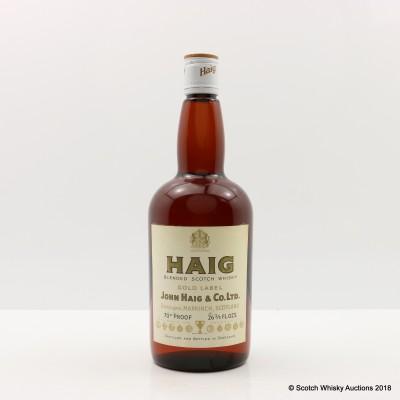 Haig Gold Label 26 2/3 Fl Oz