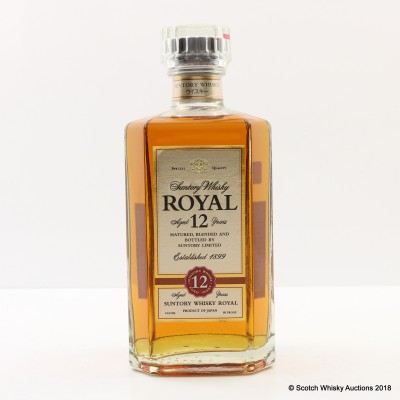Suntory Royal 12 Year Old 66cl