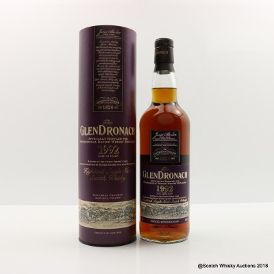 GlenDronach 1992 25 Year Old 'Mace Windu' Danish Release