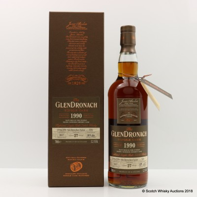 GlenDronach 1990 27 Year Old Single Cask #7902