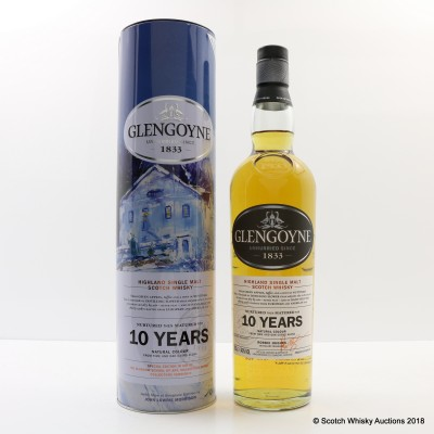 Glengoyne 10 Year Old Glasgow School Of Art Mackintosh Appeal Version #2