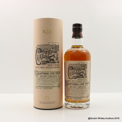Craigellachie 1999 17 Year Old Exceptional Cask Series