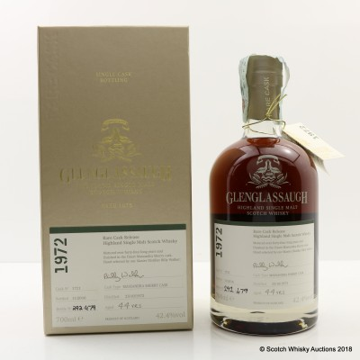 Glenglassaugh 1972 44 Year Old Rare Cask
