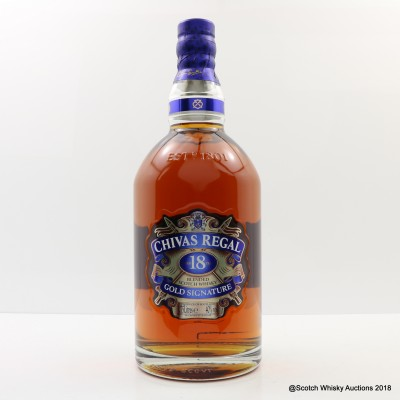 Chivas Regal 18 Year Old Gold Signature 1.75L