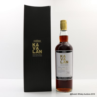 Kavalan Selection Sherry Cask For La Maison Du Whisky Singapore 10th Anniversary