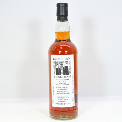Kilkerran Bottled at the Distillery