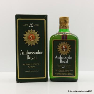Ambassador Royal 12 Year Old 75cl