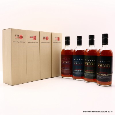 Karuizawa 1999 & 2000 Cask Strength 1st To 4th Releases 4 x 70cl