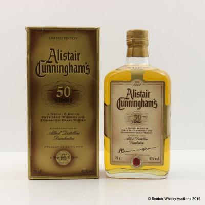 Alistair Cunningham's 50 Years Blend 75cl