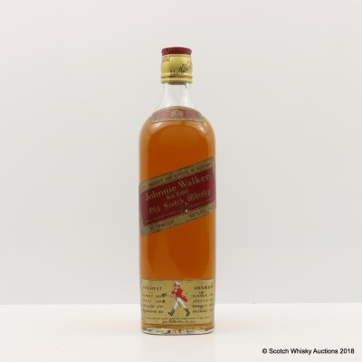 Johnnie Walker Red Label 26 2/3 Fl Oz