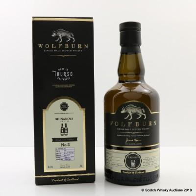 Wolfburn 2014 Single Cask #390 for Shinanoya