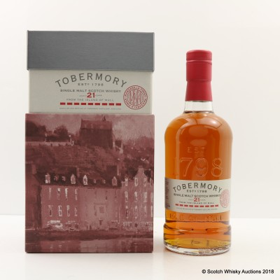Tobermory 21 Year Old Manzanilla Finish Limited Edition