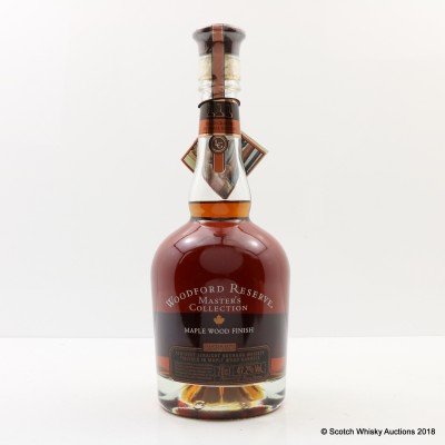Woodford Reserve Master's Collection Maple Wood