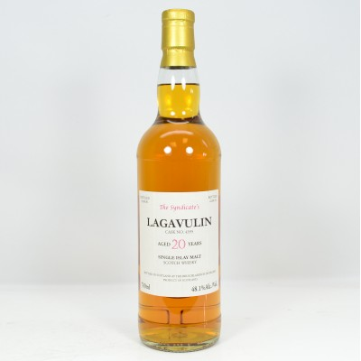 Lagavulin 1990 20 Year Old The Syndicate's Bottling