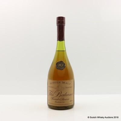 Balvenie 10 Year Old Founder's Reserve Cognac Bottle 75cl