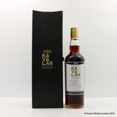 Kavalan Selection Sherry Cask For La Masion Du Whisky Singapore 10th Anniversary