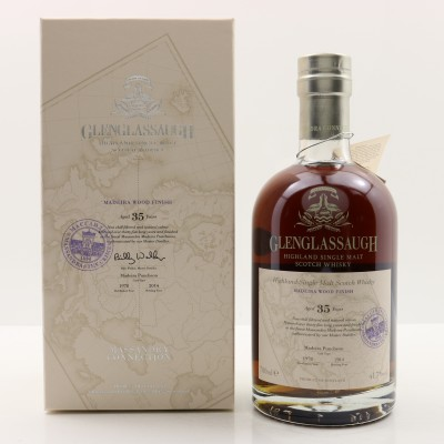 Glenglassaugh 1978 35 Year Old Madeira Wood Finish