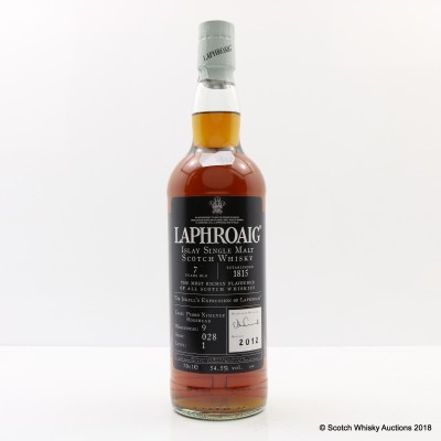 Laphroaig 7 Year Old 'Dr Jekyll's Expression Of Laphroaig'
