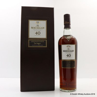 Macallan 40 Year Old 2005 Release