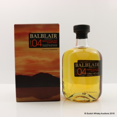 Balblair 2004 First Release Travel Retail 1L